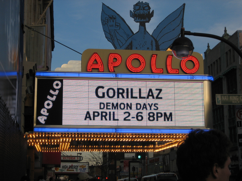 Gorillaz at the Apollo